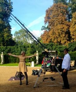 me with Ian and crane